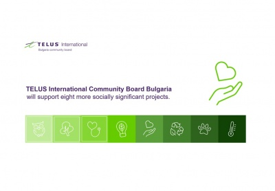 TELUS International Bulgaria Community Board voted to Fund Communities Affected by COVID-19
